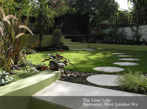 Modern Garden Design the lollipop garden modern garden by robert hughes garden design Modern Garden Ideas