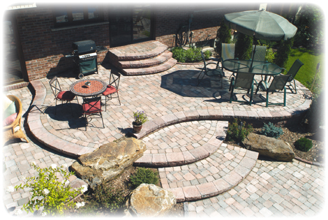 patio designs thatsmygarden